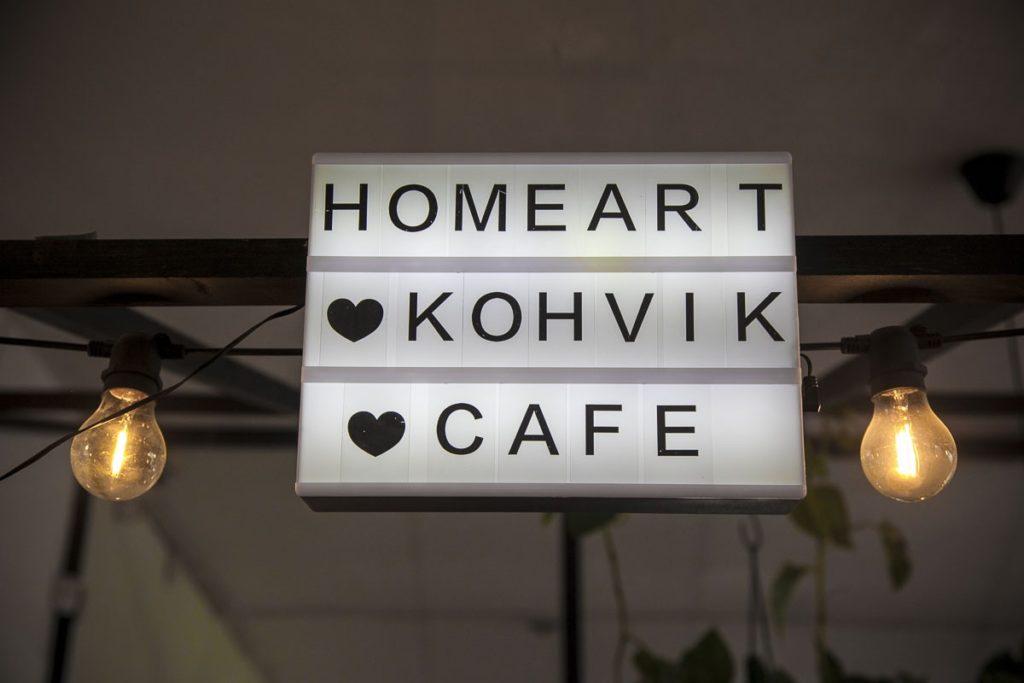 Homeart on sekä kauppa että kahvila paikkana Telliskivi
