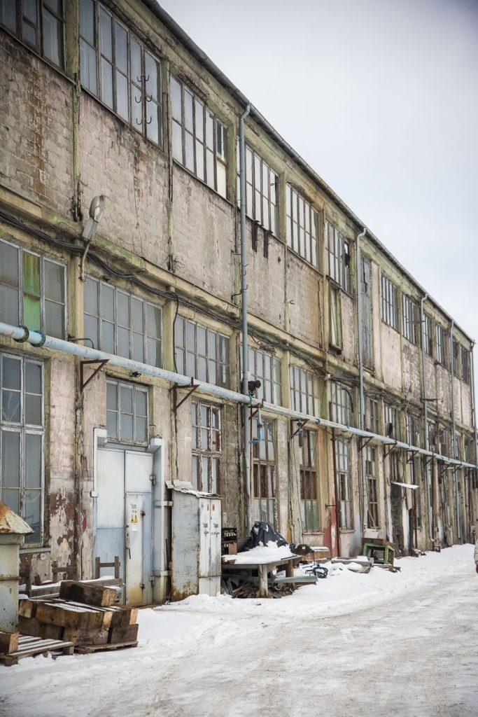 Teollisuushalli Noblessner Tallinna