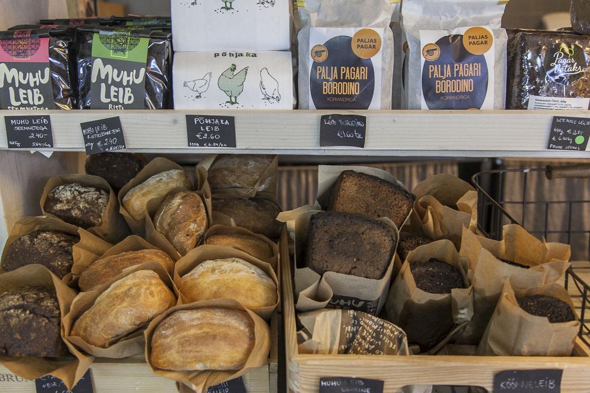 levaine leipää nop kahvilassa
