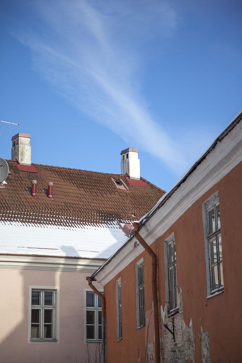 Kauniita taloja Tallinna Toompea