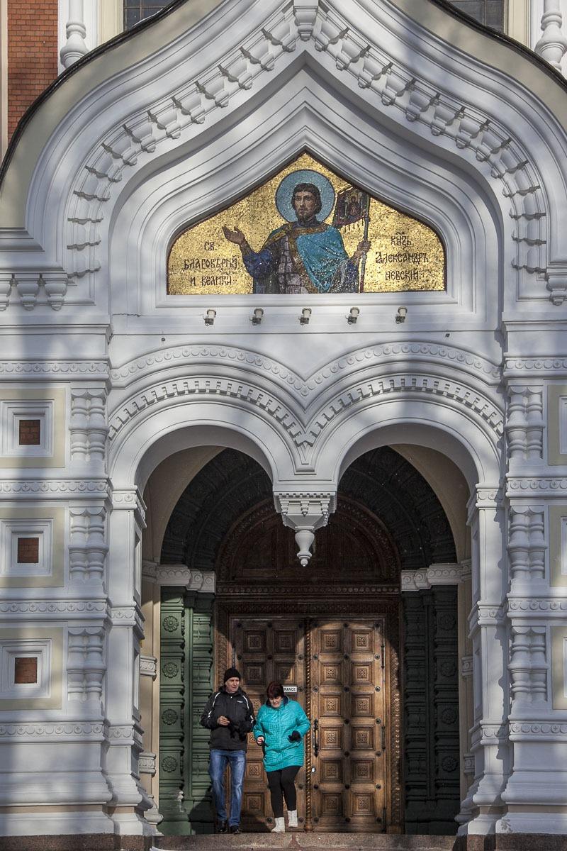 Aleksander Nevskin katedraali Tallinna Toompea