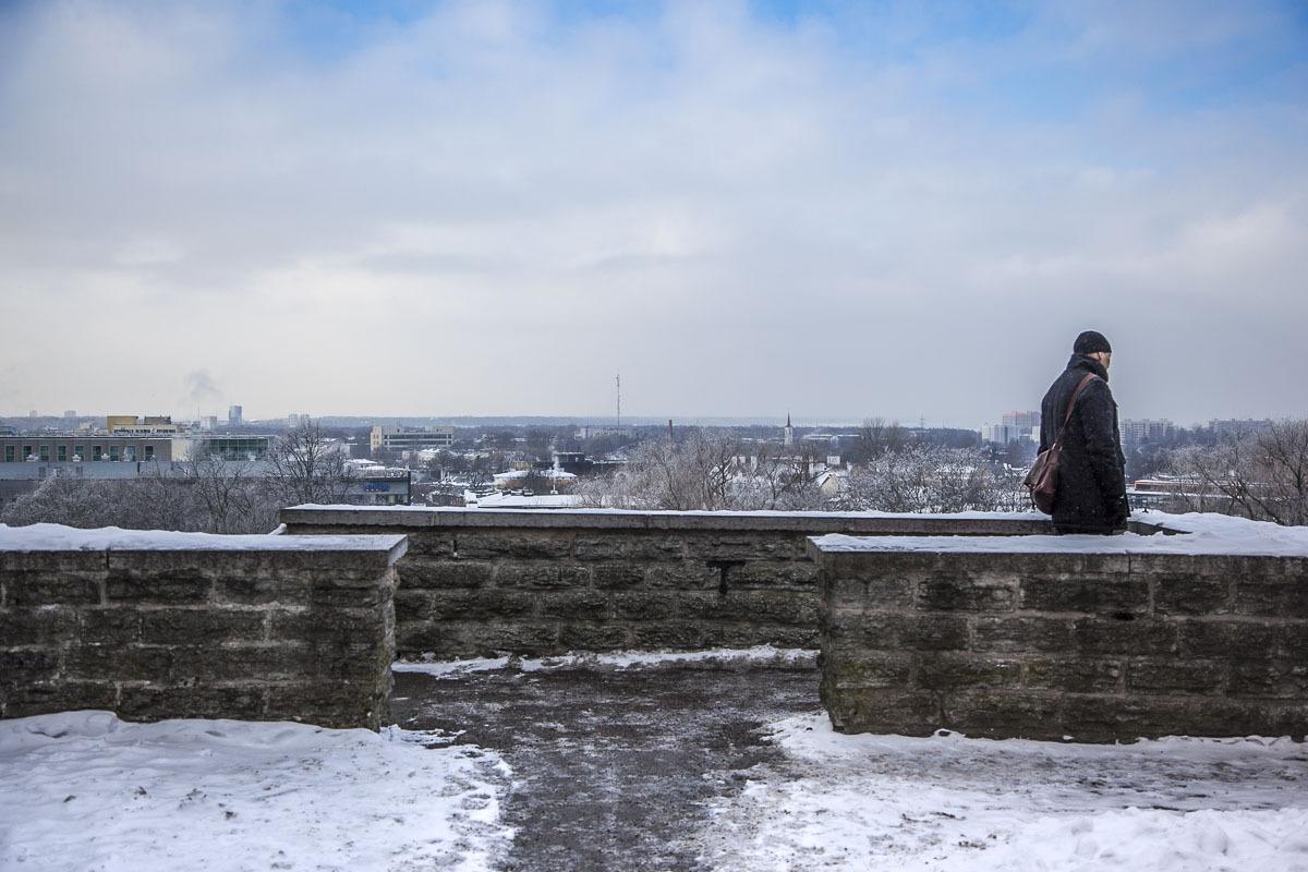 Näköalapaikka Tallinna Toompea