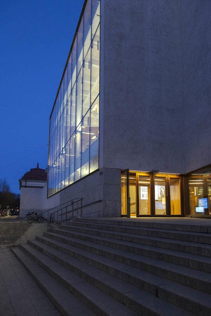 Kirjasto turku sisäänkäynti
