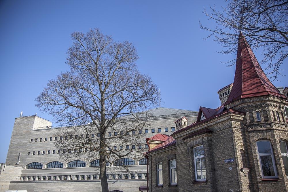 Rahvusraamatukogu Tallinnan kirjasto