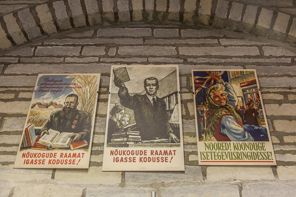Tallinnan kirjasto ja julistetaidetta