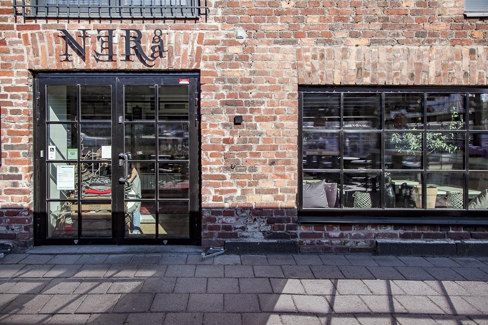 Ravintola Nerå on tyylikäs ja viihtyisä