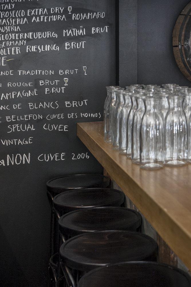 Nerån mainio viinivalikoima