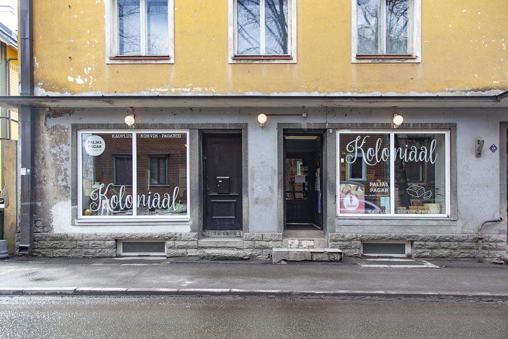 Kohvik kahvila Koloniaal Kalamaja Tallinna