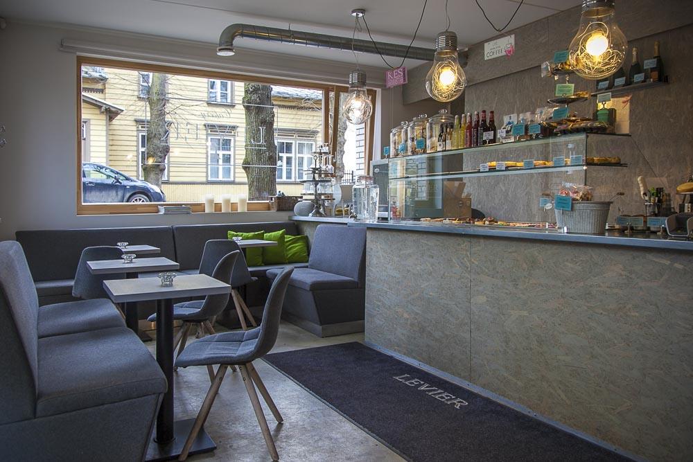 Levier Cakery kahvila Kalamajassa Tallinnassa