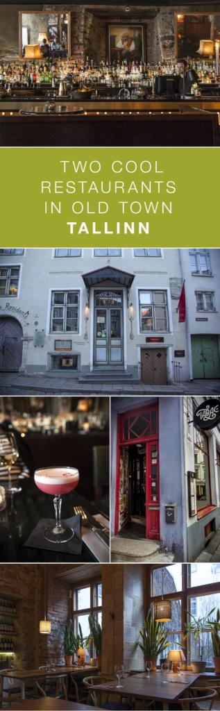 Rataskaevu 16 ja Tabac Tallinnan vanhassa kaupungissa