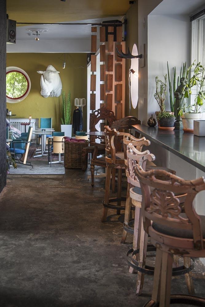 Kohvik Klaus on nyt myös Estonian Design Housen entisissä tiloissa