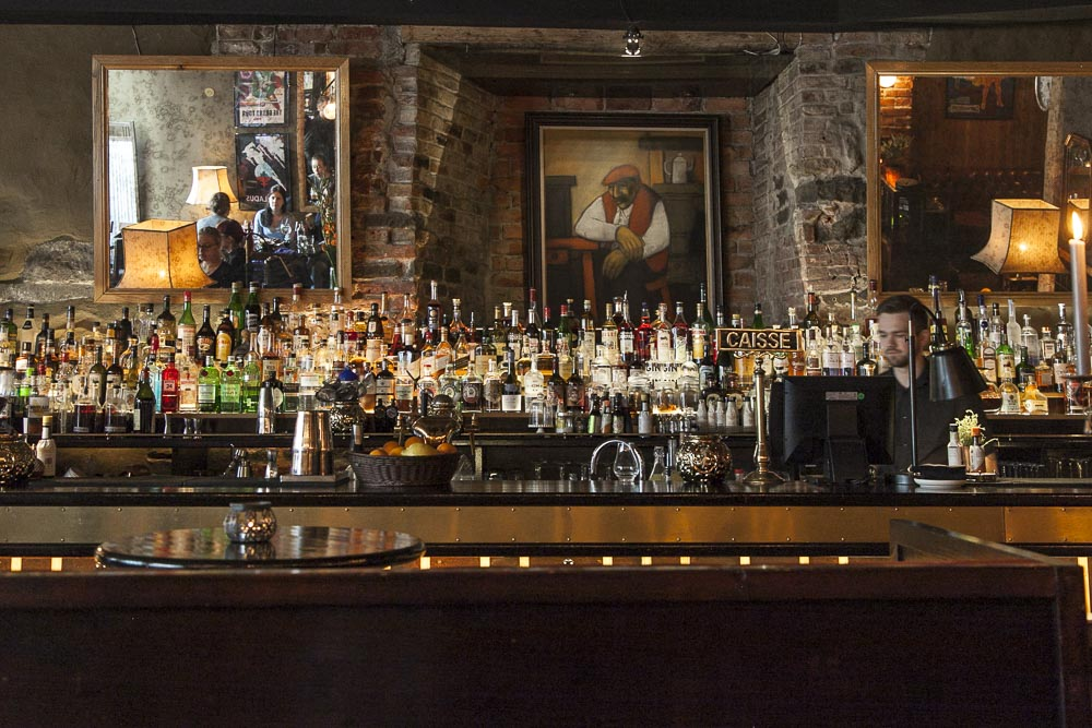 Tabac Tallinnassa on sekä baari että ravintola