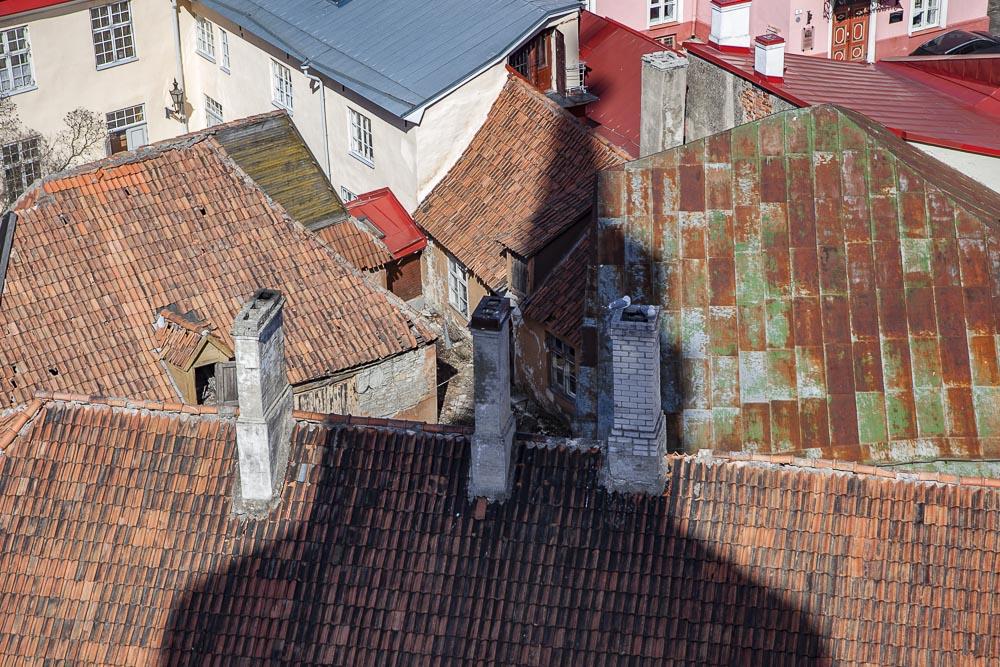 Tallinnan vanha kaupunki tuomiokirkon tornista