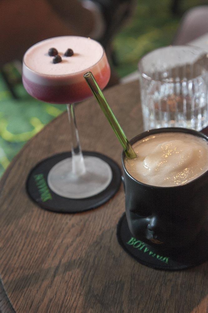 Bar Botaanikin drinkit ovat kauniita ja todella hyviä