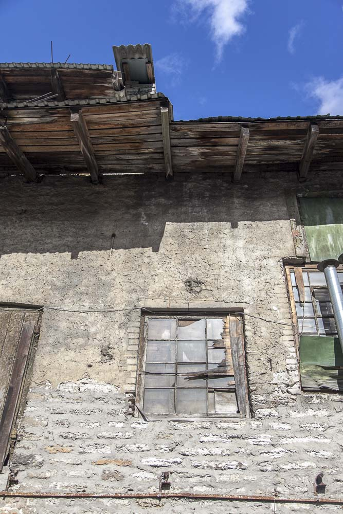 Kotzebue bakeryn talo on todella huonossa kunnossa mutta hieno