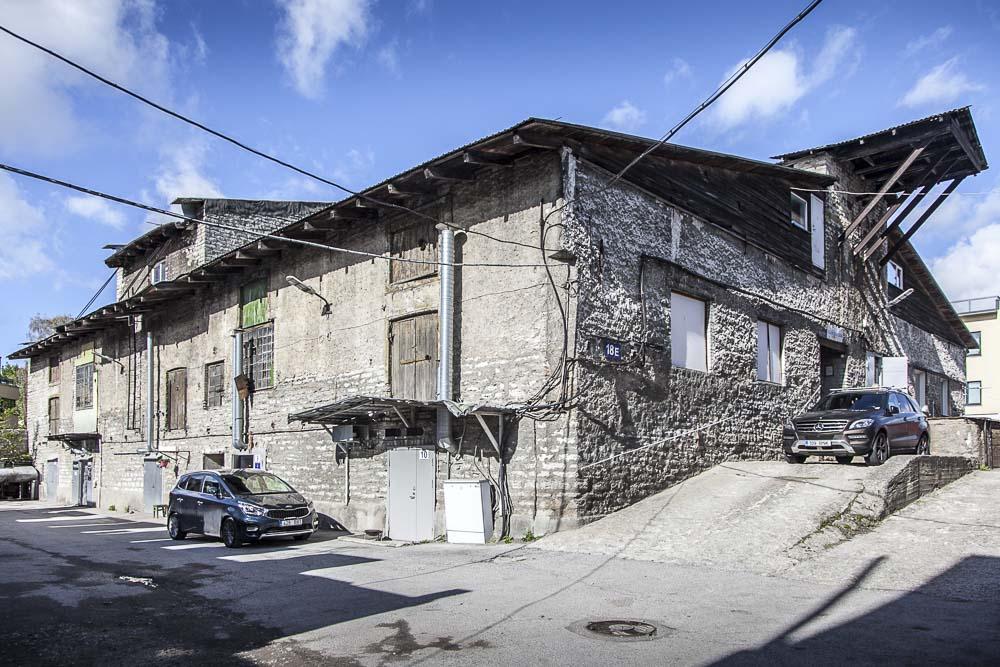 Tältä näyttää Kotzebue leipomon talo