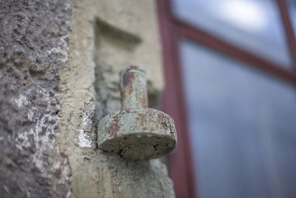 Yksityiskohta vanhasta talosta Tallinnan kalamajassa