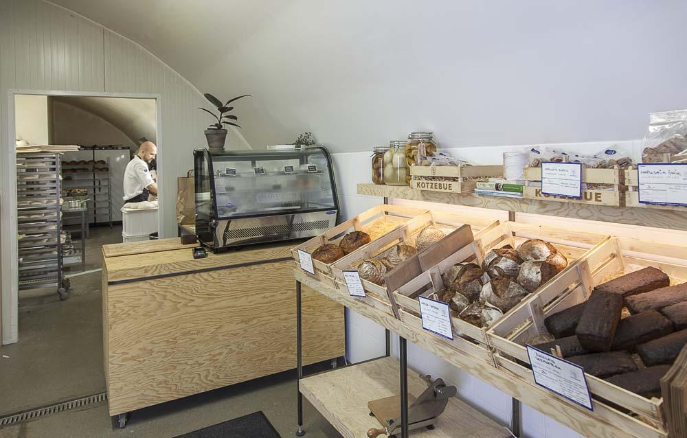 Yleiskuva kotzebue leipomosta kalamajassa