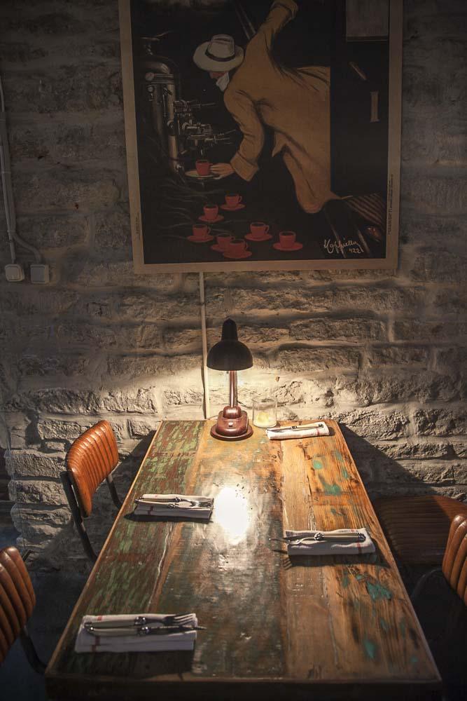 Ravintola josta ruoka voi loppua kesken on OneSixty Tallinnassa