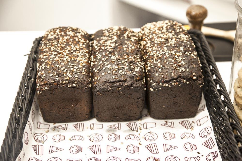 Virolainen tumma leipä Pagarini leipomosta