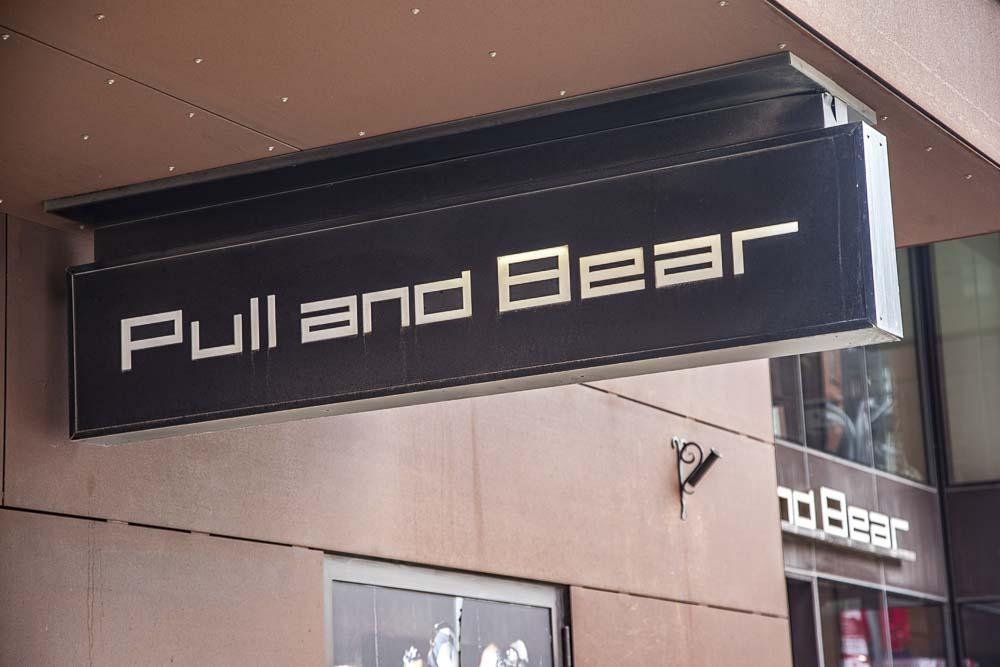 Pull&Bear löytyy Rotermanni-keskuksesta Tallinnasta