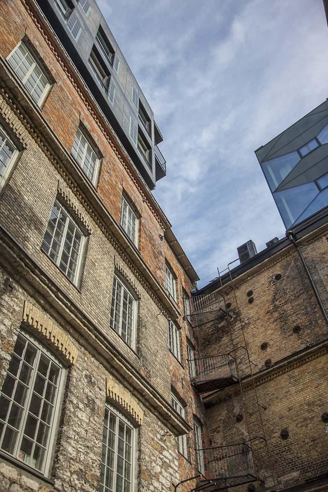 Tallinnan Rotermanni on kiinnostavaa arkkitehtuuria