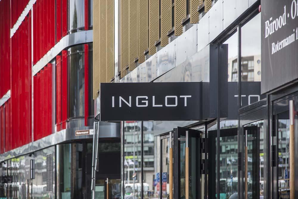 Inglot on kosmetiikkaa ja meikkejä Tallinnassa