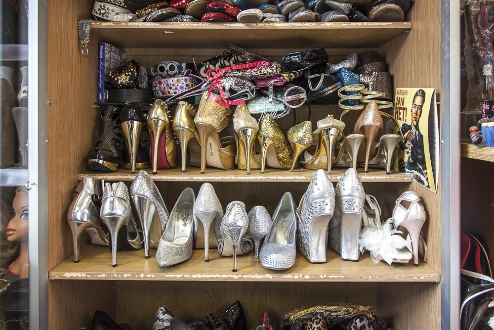Wilma Schlizewskin kenkäkauppa on Tallinnan säihkyvin