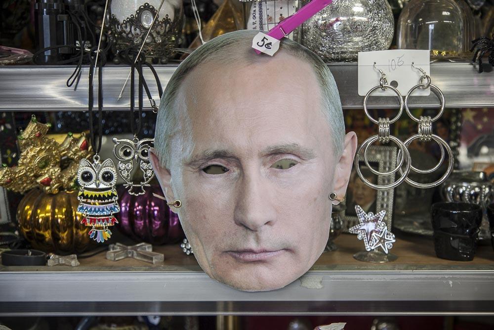 Wilma Schlizewski ja Vladimir Putin
