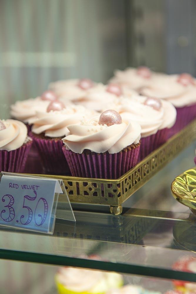 Cupcake vohvelikahvilassa