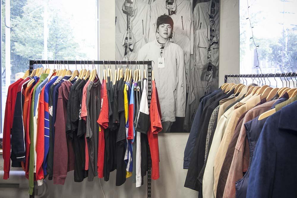 Kopli vintage käytettyjen vaatteiden kauppa