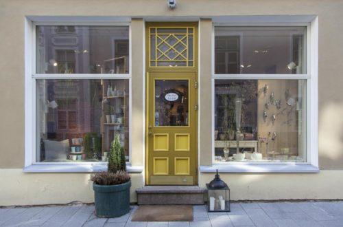 Sisustuskauppa Tallinnassa Pikk-kadulla
