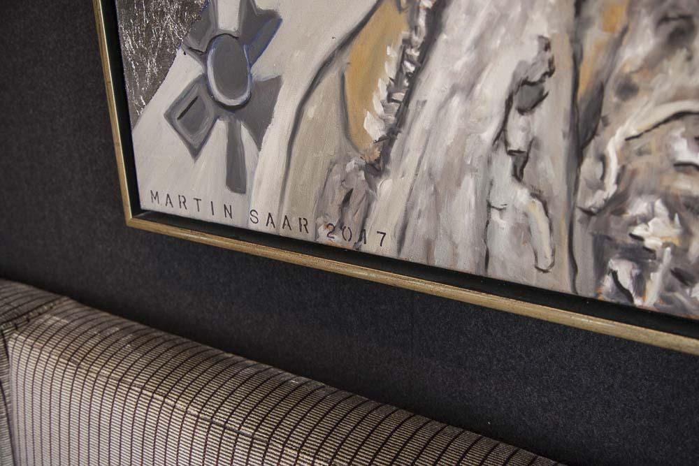 tabula rasa ravintolan omistaja on maalannut sen seinillä oleva taulut