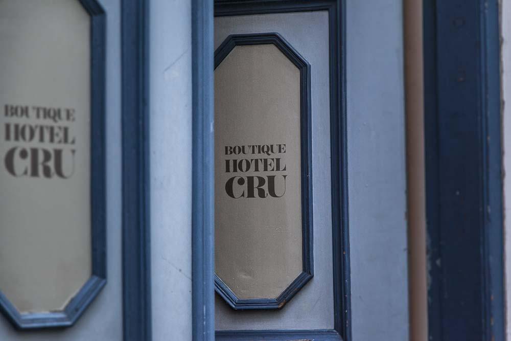 Hotelli Crun sisäänkäynti