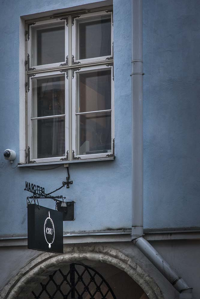 Tallinnan vanhassa kaupungissa hotelli cru