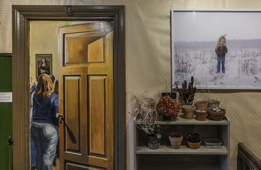 Flo kasearu museon yläkerta