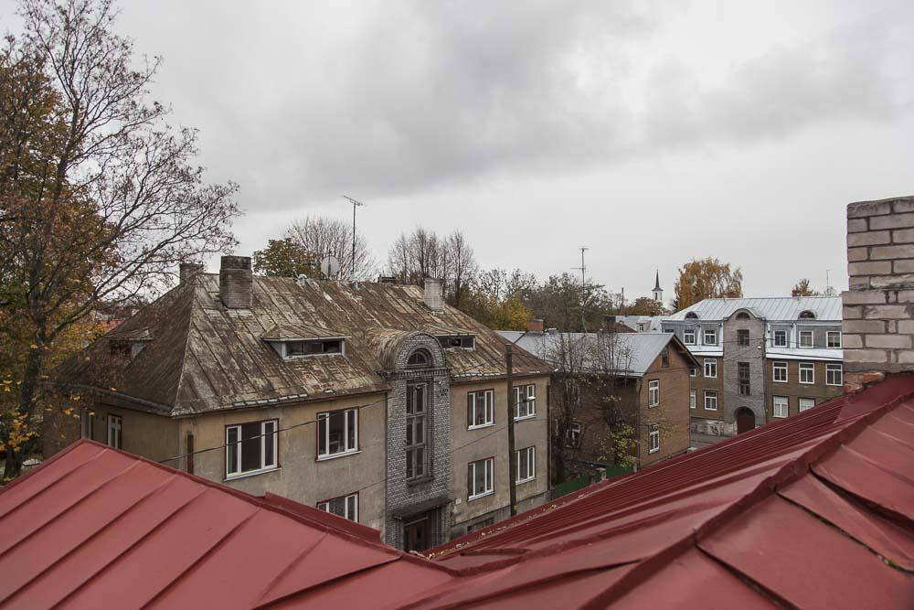 Näkymä Pelgulinnaan flo kasearu museon katolta