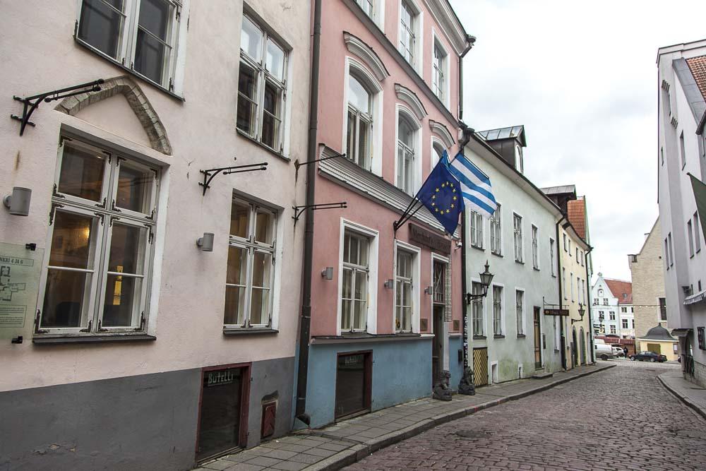 Merchant House hotelli tallinnan dunkri kadulla