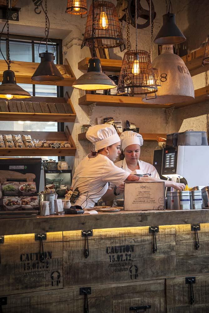 Rukis kohvik eli kahvila viru-kadulla tallinnan vanhassa kaupungissa