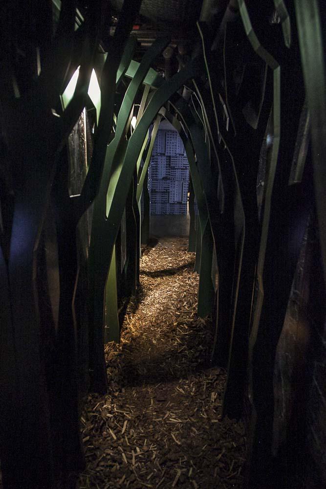 metsäveljet vabamu-museon näyttelyssä