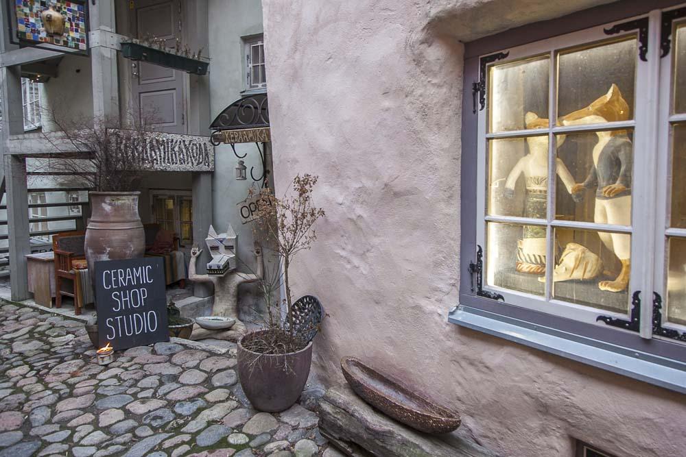 Mestaripiha tallinna vanha kaupunki keramiikkapaja