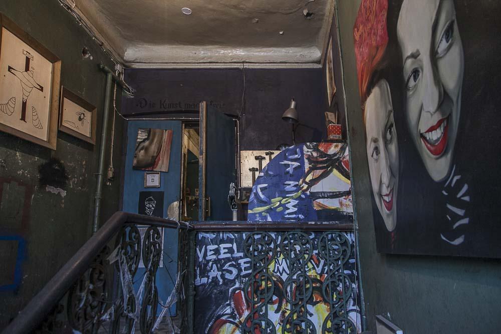 Metropol gallerian rappukäytävä