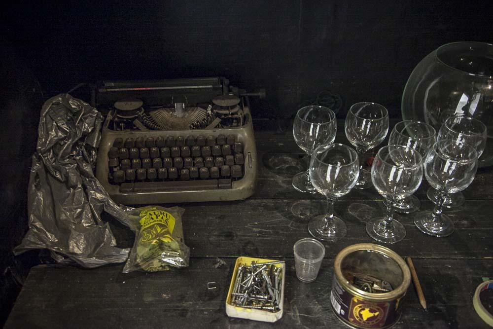 Vanha venäläinen kirjoituskone