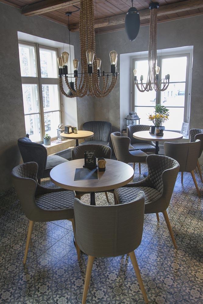 Kahvilat Tallinnassa: Caffe Carissime