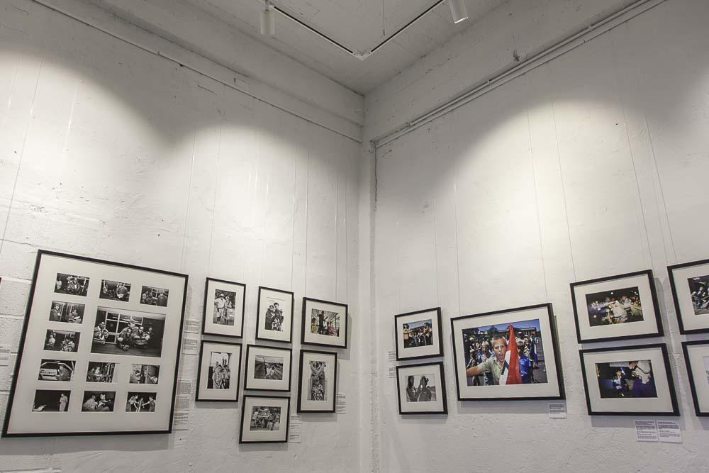 Juhan kuus dokumenttikuvagallerian näyttely telliskivessä