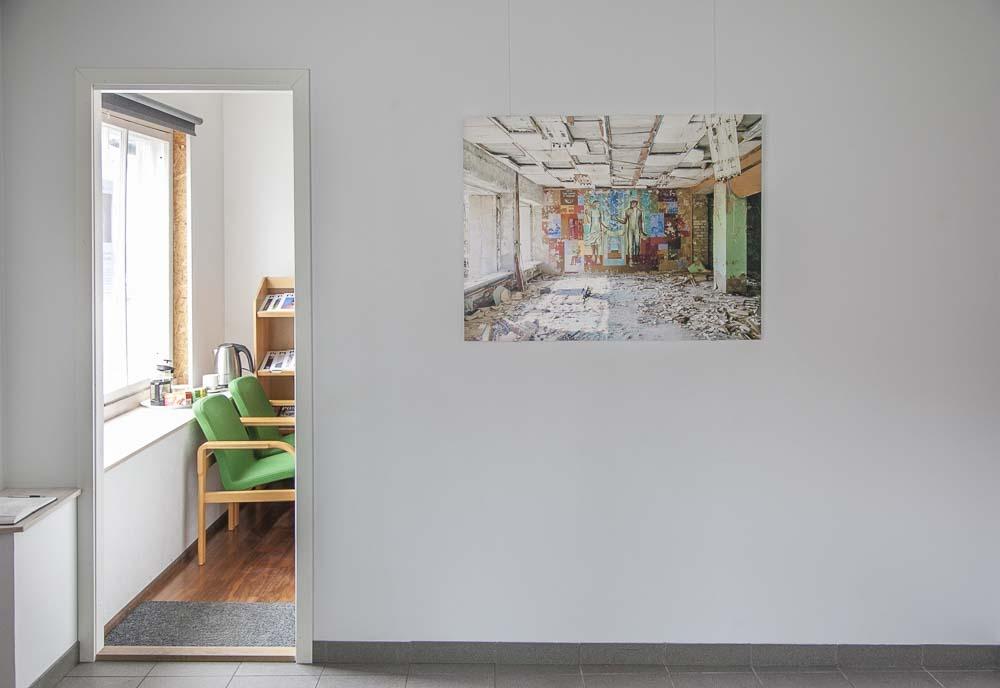 Positiiv gallerian tsernobyl-näyttely