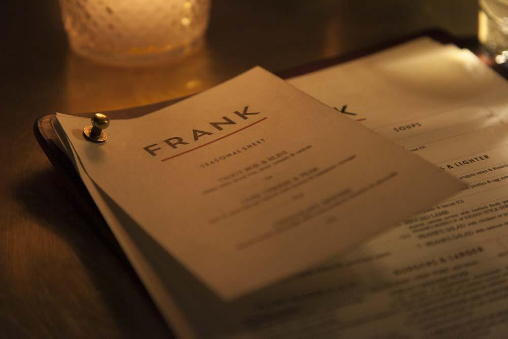 frank baarin ruokalista