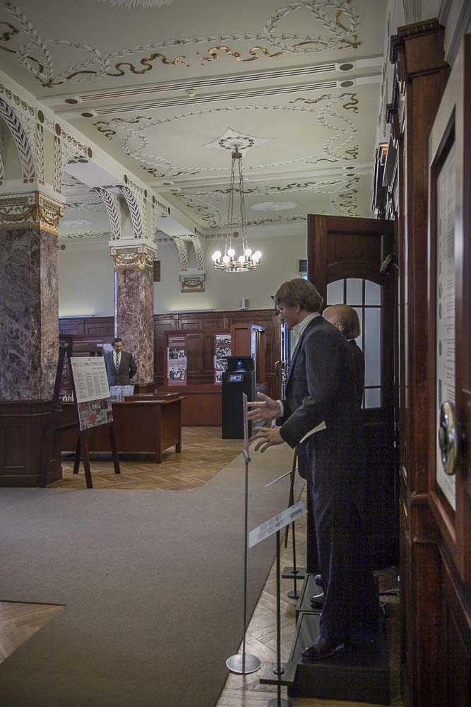 Tallinnan pankkimuseo näyttelytila