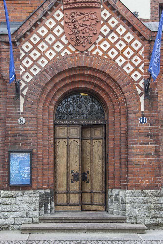 Tallinnan pankkimuseo sisäänkäynti