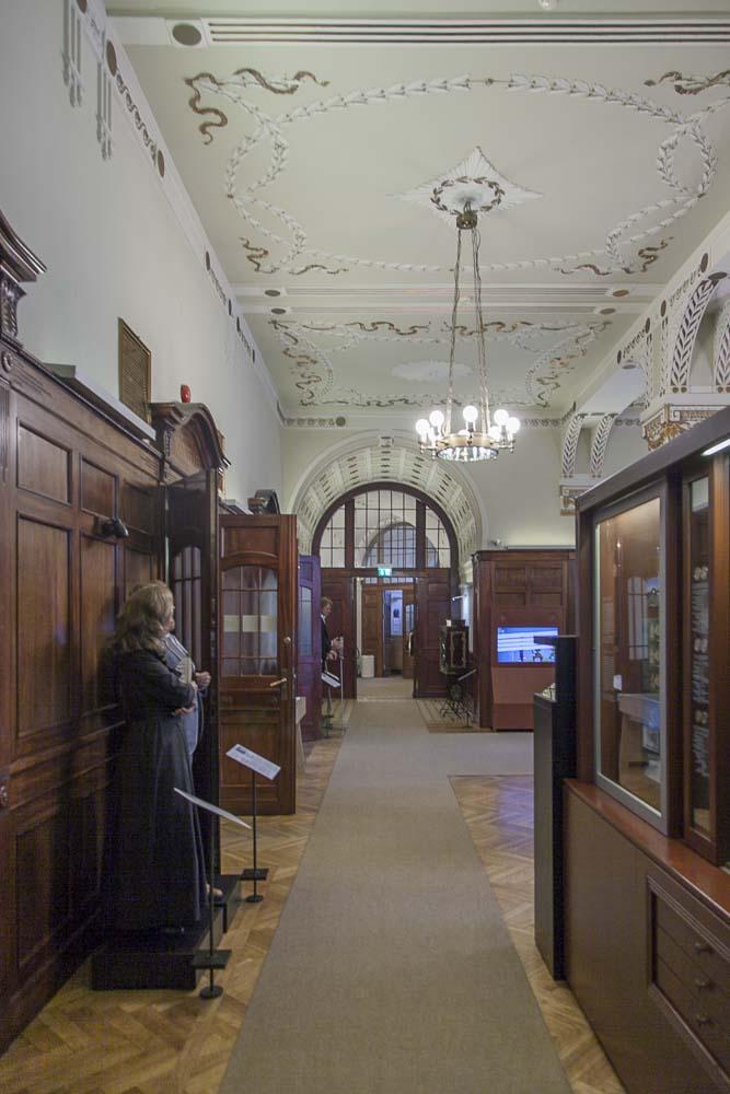 Tallinnan pankkimuseon sisätilat